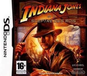 INDIANA JONES AND THE STAFF OF KINGS - NDS ηλεκτρονικά παιχνίδια ds games action adventure