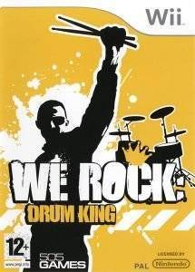 WE ROCK : DRUM KING - WII  wii games music and rhythm