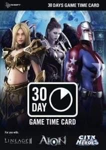 NCSOFT (AION) PREPAID GAME CARD : 30DAYS