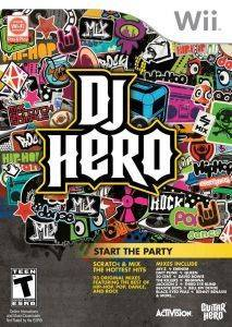 DJ HERO - WII  wii games music and rhythm