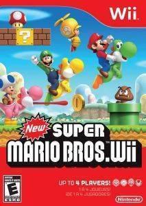 NINTENDO NEW SUPER MARIO BROS ηλεκτρονικά παιχνίδια wii games platformer