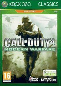 CALL OF DUTY 4: MODERN WARFARE CLASSIC (XBOX360)