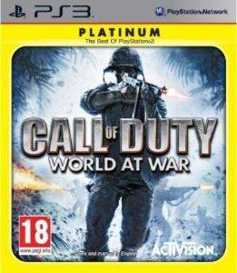 CALL OF DUTY: WORLD AT WAR PLATINUM - PS3