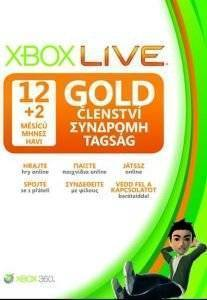 XBOX360 - LIVE 12+2 MONTHS GOLD CARD