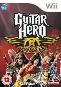 GUITAR HERO AEROSMITH STAND ALONE GAME (WII)  wii games music and rhythm