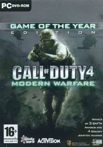 CALL OF DUTY 4 MODERN WARFARE GOTY - PC