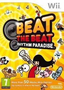 BEAT THE BEAT : RHYTHM PARADISE  wii games music and rhythm