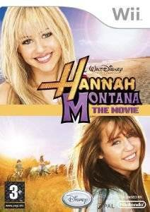 HANNAH MONTANA THE MOVIE - WII  wii games music and rhythm
