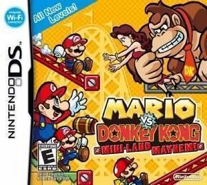 MARIO VS DONKEY:MINI-LAND MAYHEM - DS ηλεκτρονικά παιχνίδια ds games platformer