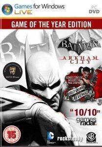 BATMAN ARKHAM CITY GAME OF THE YEAR - PC