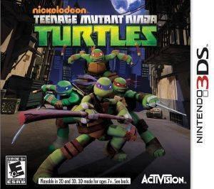 NICKELODEON TEENAGE MUTANT NINJA TURTLES - 3DS  3ds games action