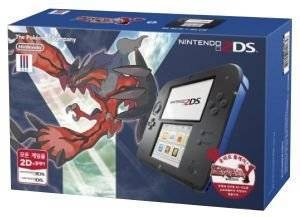 NINTENDO 2DS CONSOLE BLACK AND BLUE