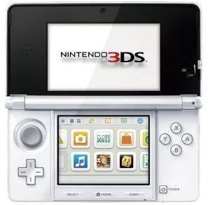 NINTENDO CONSOLE 3DS ICE WHITE