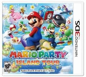 MARIO PARTY : ISLAND TOUR - 3DS  3ds games music and rhythm