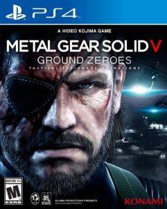 METAL GEAR SOLID V: GROUND ZERO - PS4