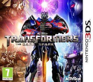 TRANSFORMERS RISE OF THE DARK SPARK - 3DS ηλεκτρονικά παιχνίδια 3ds games action