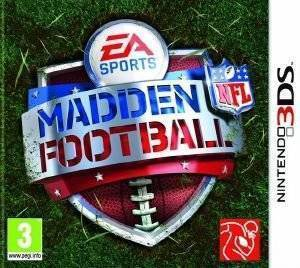 MADDEN NFL FOOTBALL - 3DS ηλεκτρονικά παιχνίδια 3ds games sports simulators