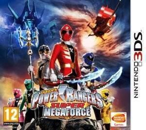 POWER RANGERS : SUPER MEGAFORCE - 3DS  3ds games action