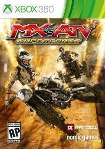 MX VS ATV : SUPERCROSS - XBOX 360 ηλεκτρονικά παιχνίδια xbox360 games racing