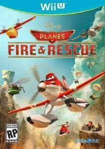 DISNEY PLANES : FIRE & RESCUE - WIIU