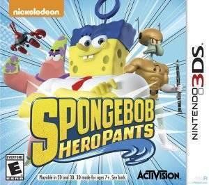 SPONGEBOB HEROPANTS - 3DS  3ds games virtual life