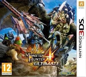 MONSTER HUNTER 4 ULTIMATE - 3DS  3ds games action