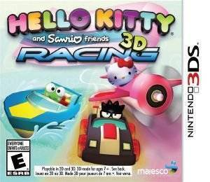 HELLO KITTY AND SANRIO FRIENDS 3D RACING - 3DS ηλεκτρονικά παιχνίδια 3ds games racing