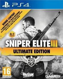 SNIPER ELITE III ULTIMATE EDITION & 9 DLC PACKS - PS4