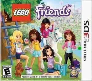 LEGO FRIENDS - 3DS  3ds games action adventure
