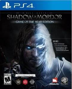 MIDDLE - EARTH : SHADOW OF MORDOR GAME OF THE YEAR - PS4