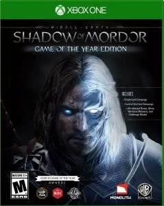 MIDDLE - EARTH : SHADOW OF MORDOR GAME OF THE YEAR - XBOX ONE