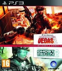 RAINBOW SIX VEGAS 2 & GHOST RECON ADVANCED WARFIGHTER 2 (DOUBLE PACK) - PS3