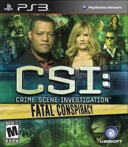 CSI: CRIME SCENE INVESTIGATION - FATAL CONSPIRACY - PS3 ηλεκτρονικά παιχνίδια ps3 games action