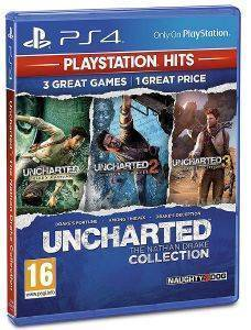 UNCHARTED NATHAN DRAKE COLLECTION HITS - PS4