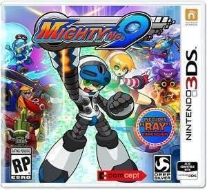 MIGHTY NO. 9 - 3DS ηλεκτρονικά παιχνίδια 3ds games platformer