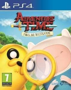 ADVENTURE TIME FINN AND JAKE INVESTIGATIONS - PS4