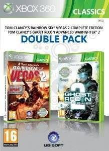RAINBOW SIX: VEGAS 2 + GHOST RECON: ADVANCED WARFIGHTER 2 - DOUBLE PACK CLASSICS - XBOX 360