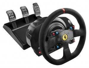 THRUSTMASTER T300 FERRARI INTEGRAL RACING WHEEL ALCANTARA EDITION - PC/PS3/PS4
