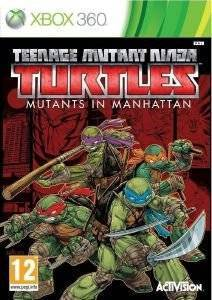 TEENAGE MUTANT NINJA TURTLES, MUTANT IN MANHATTAN - XBOX 360