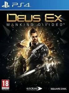 DEUS EX: MANKIND DIVIDED - DAY 1 EDITION - PS4