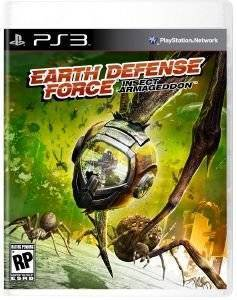EARTH DEFENSE FORCE INSECT ARMAGEDDON - PS3 ηλεκτρονικά παιχνίδια ps3 games action adventure