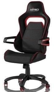 NITRO CONCEPTS E220 EVO GAMING CHAIR BLACK / RED - NC-E220E-BR ηλεκτρονικά παιχνίδια gaming chairs gaming chairs