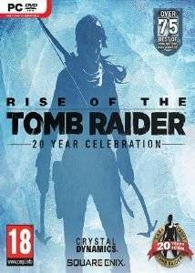 RISE OF TOMB RAIDER: 20 YEAR CELEBRATION - PC ηλεκτρονικά παιχνίδια pc games action adventure