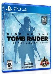 RISE OF TOMB RAIDER: 20 YEAR CELEBRATION - PS4