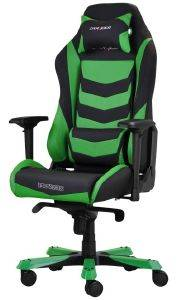 DXRACER IRON IS166 GAMING CHAIR BLACK/GREEN - OH/IS166/NE