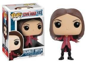 POP! MARVEL CIVIL WAR CAPTAIN AMERICA - SCARLET WITCH (133)