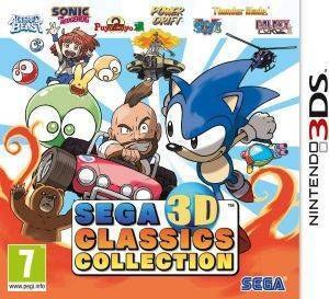 SEGA 3D CLASSICS COLLECTION - 3DS ηλεκτρονικά παιχνίδια 3ds games action