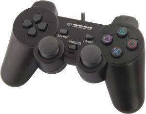 ESPERANZA EG106 GAMEPAD WITH VIBRATION FOR PC/PS2/PS3 USB