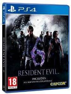 RESIDENT EVIL 6 (INCLUDES: ALL MAP AND MULTIPLAYER DLC) - PS4 ηλεκτρονικά παιχνίδια ps4 games action adventure