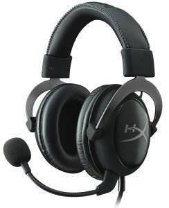 HYPERX KHX-HSCP-GM CLOUD II HEADSET GUN METAL ηλεκτρονικά παιχνίδια κονσολεσ   περιφερειακα gaming headsets